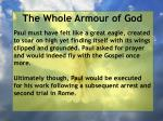 the whole armour of god79