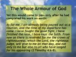 the whole armour of god80