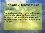 the whole armour of god81