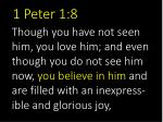 1 peter 1 8