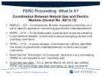 ferc proceeding what is it