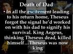death of dad