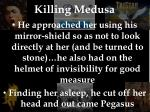 killing medusa
