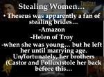 stealing women