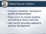 global dossier initiative