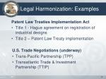 legal harmonization examples1