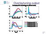 overlaytuning output