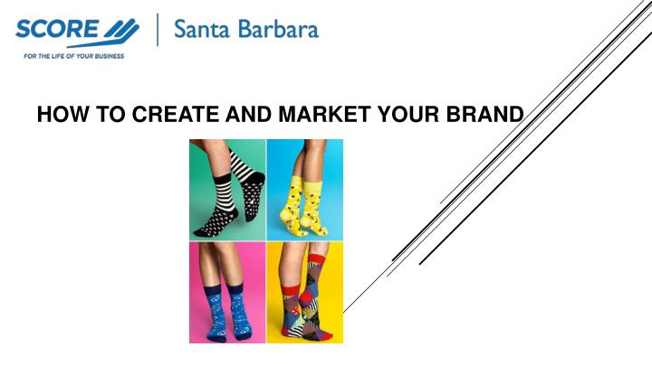 how to create and market your brand n.