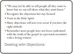 dealing with objections1