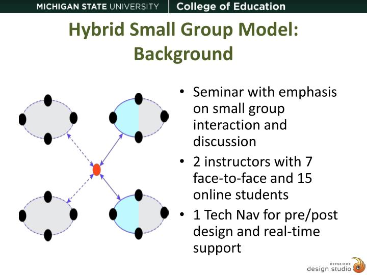 hybrid small group model background n.