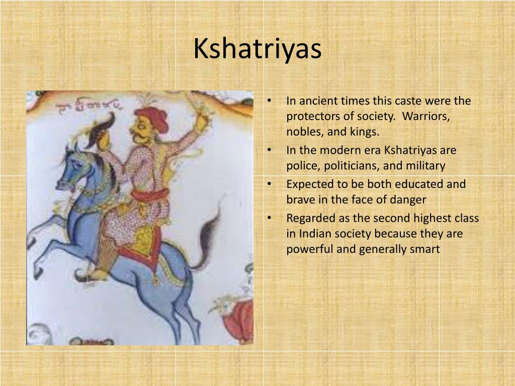 PPT - The Indian Caste System: How Indian Society is