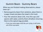 gummi bears gummy bears2