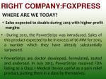 right company fgxpress1