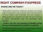 right company fgxpress2