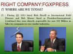right company fgxpress4
