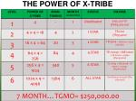 the power of x tribe