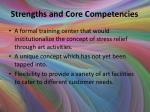 strengths and core competencies