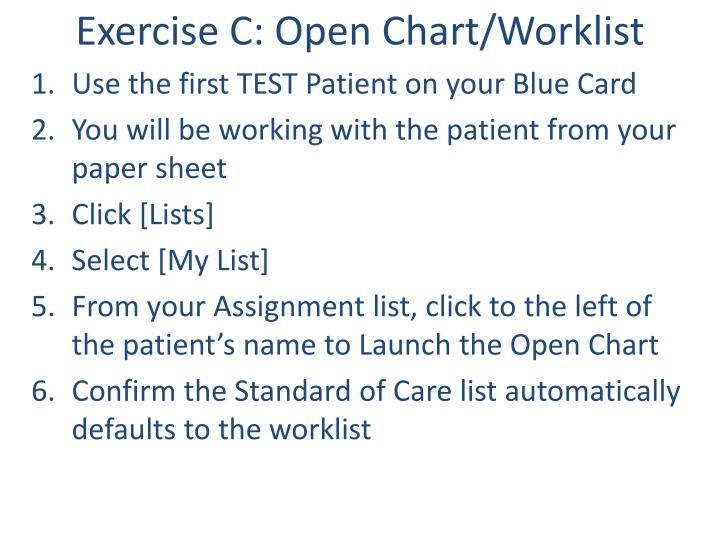 Exercise C: