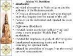jainism vs buddhism