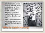 who is keith haring
