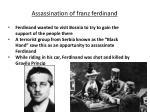 assassination of franz ferdinand1