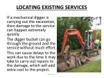 locating existing services2