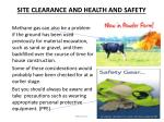 site clearance and health and safety2