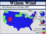wilson wins