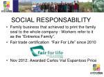 social responsability