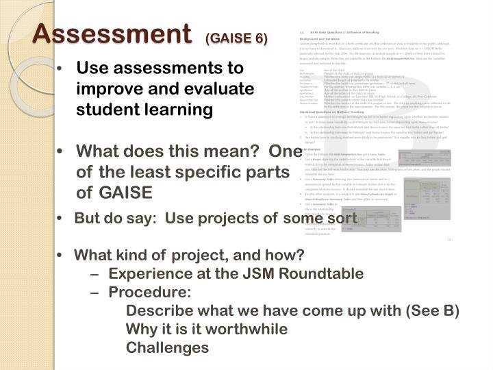 Assessment