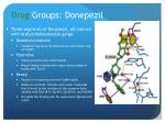 drug groups donepezil