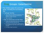 drug groups galantamine
