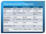 pharmacokinetic properties