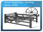 james hargreaves spinning jenny 1765