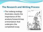 the research and writing process1