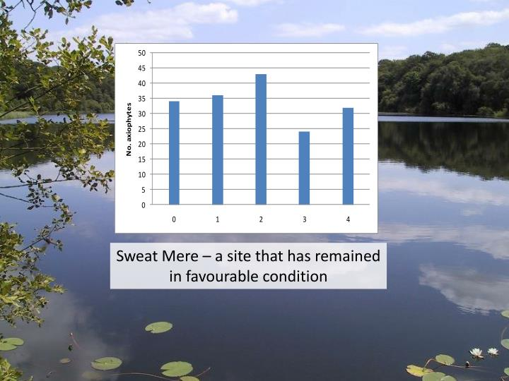 Sweat Mere – a site that has remained in favourable condition