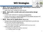 wo strategies