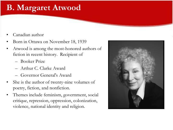 B margaret atwood