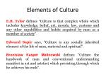 elements of culture1