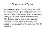 government types3