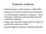 propionic acidemia