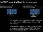 mptcp permits flexible topologies2