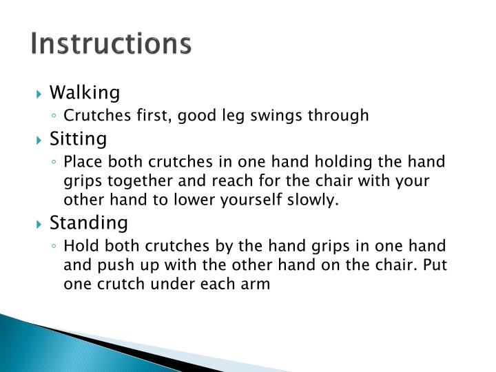 Ppt Crutch Fitting Powerpoint Presentation Id2128377