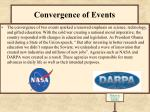 convergence of events