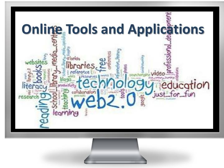 online tools and applications n.