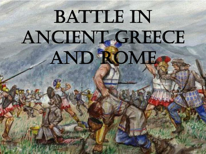 battle in ancient greece and rome n.