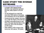 case study the dvorak keyboard http www youtube com watch v izzmczt4mxa