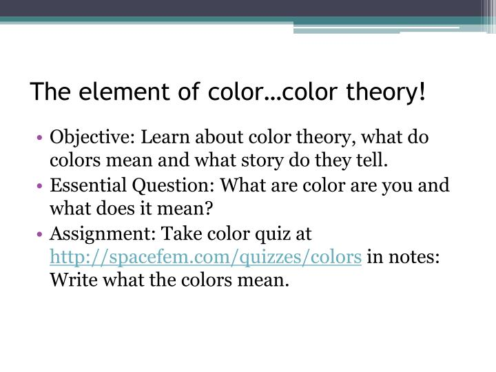 Spacefem color quiz