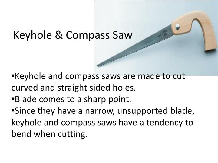 Keyhole & Compass Saw