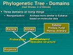 phylogenetic tree domains carl woese u of illinois